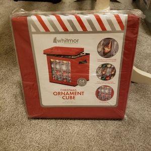 🆕️NWT Christmas Ornament Storage Cube